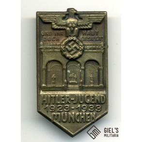 HJ 1923-1933 Hitler-Jugend München tinnie by H.Wittmann München