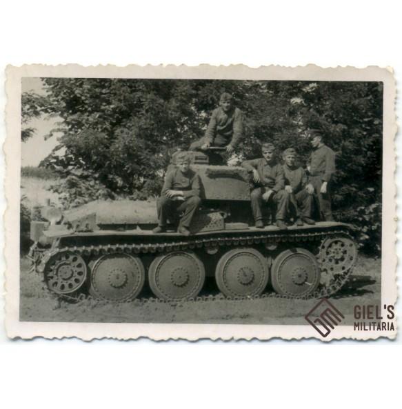 """3 early panzer photos """"Fahrschüle"""""""
