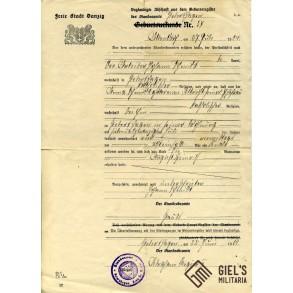 Danzig document