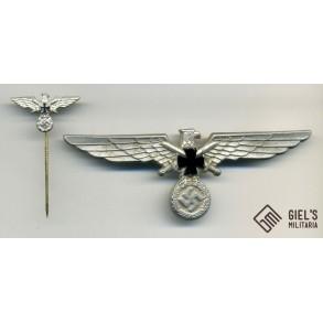 Kyffhäuserverband breast eagle + stickpin