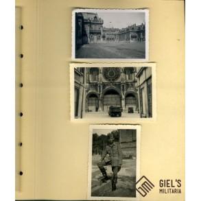 Photo album destroyed France 1940, Duinkerke, Paris, Lyon,...