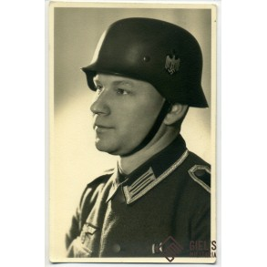Helmet portrait