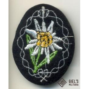 Mountain troopers sleeve Edelweiss