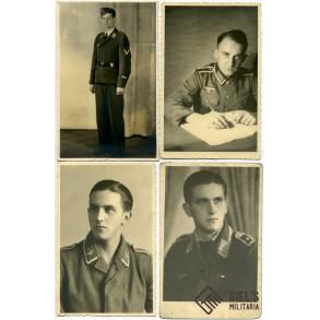 4 portrait photos