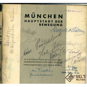 Munich propaganda brochure signed by several high authorities!