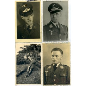 4 Luftwaffe portrait photos