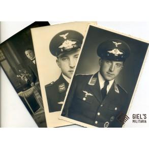3 portrait photo from an Luftwaffe radio operator/airgunner
