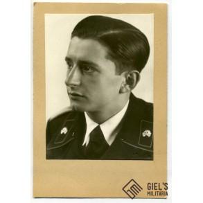 Panzer officer portrait photo