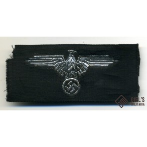 "SS officer sleeve eagle, Flemish made by ""La Nominette"""