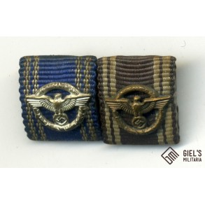 Ribbon bar NSDAP 10 + 15 year service