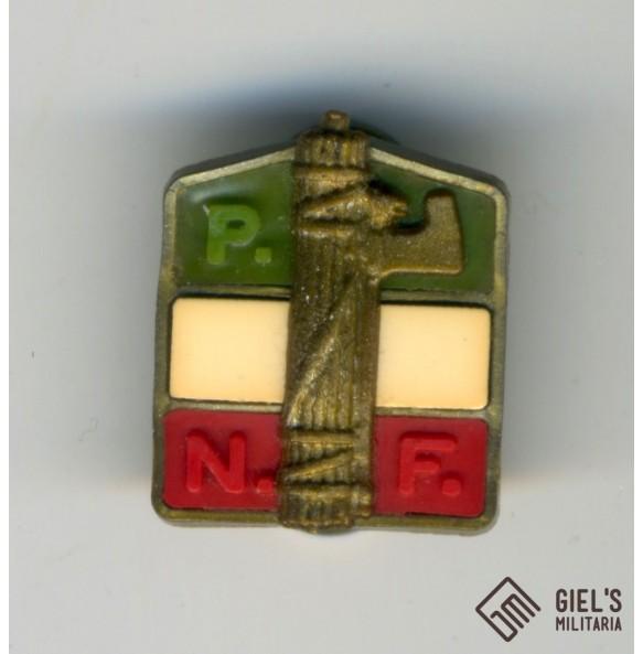 """Italian fascist """"Partito Nazionale Fascista"""" pin"""
