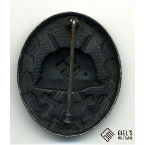 Wound badge in black by Richard Simm & Sohne