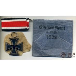 Iron cross 2nd class by Arbeitsgem. der Graveur-, Gold- und Silbers., Hanau
