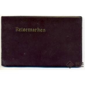 German ration coupons + holder