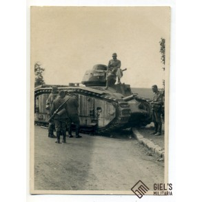 "French tank ""Bourrasque"" France May 1940"