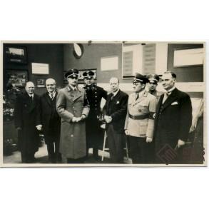 Photo World Exposition in Paris 1937, Belgian Stand! Mayor of Antwerp!