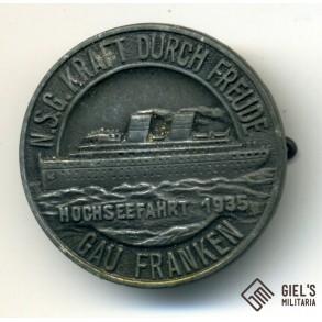 """KDF """"Hochseefahrt 1935"""""""