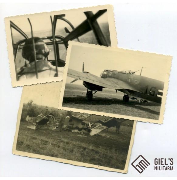 3 Luftwaffe airplane photos