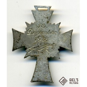 Mother's cross in silver