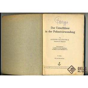 """Polizei NCO training booklet """"Der Unterführer in der Polizeiverwendung"""""""