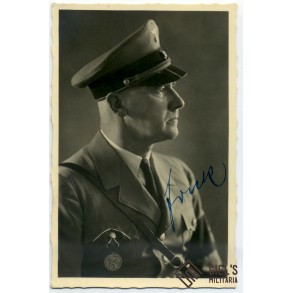 Portrait by Hoffmann, hand signed by Frick!!