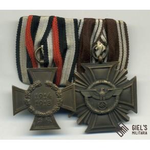 Medal bar NSDAP 10 year service