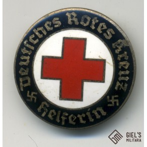 German red cross female helper pin