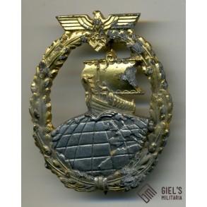 Kriegsmarine Auxiliary cruiser badge by A.Rettenmaier