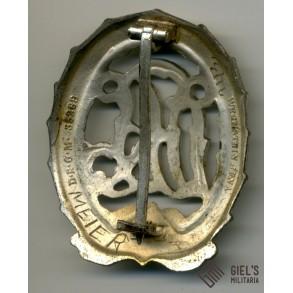 DRL wound badge in silver by Wernstein
