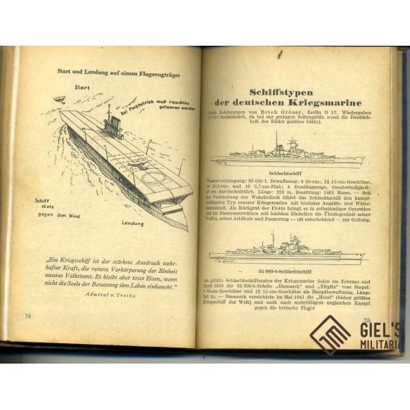 Marine pocket calendar 1943
