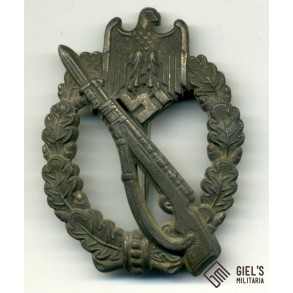 Infantry assault badge in silver by B&NL