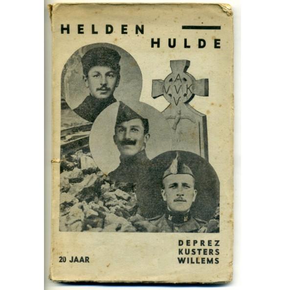 """Pre war Flemish movement lecture: """"20 jaar Helden Hulde"""""""