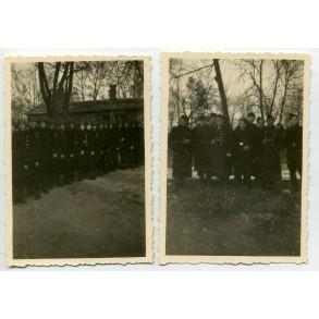 """2 private snapshots Flemish """"Zwarte Brigade"""" or """"Vlaamse Wacht"""""""