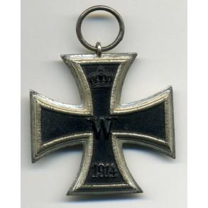WW1 Iron Cross 2nd class, one piece schinkelform!