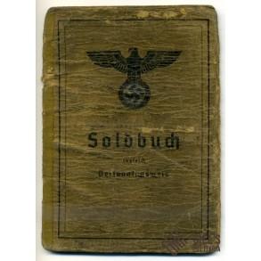 Soldbuch to Obergefreiter K.Ströher, Gebirgs Nebelwerfer!!! Lappland shield!