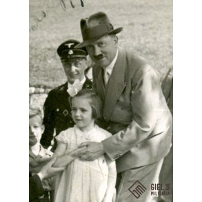 Private photo with Adolf Hitler, Obersalzberg 1937