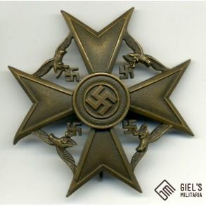 Spanish cross in bronze w/o swords