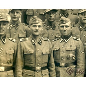 Group photo 14./SS-Pz. Gren. Ausb. Rgt, Praque 1944