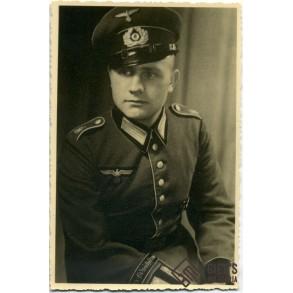 """Portrait photo """"Grossdeutschland"""" parade uniform"""