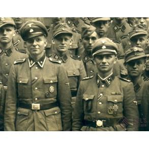 Group photo 14./SS-Pz. Gren. Ausb. Rgt, Praque 1944