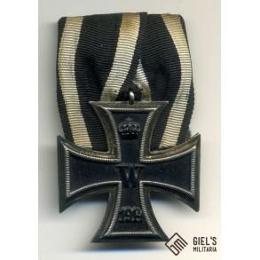 WW1 iron cross 2nd class, single mount