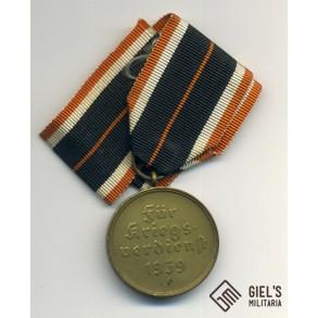War merit cross medal with long ribbon MINT