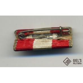 Fire brigade cross 2nd class single ribbon bar