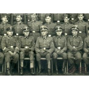 Group portrait SS Artillerie Kompanie!!