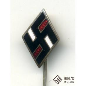 Nationalsozialistischer Deutscher Studentenbund (NSDStB) membership pin by Deschler & Sohn