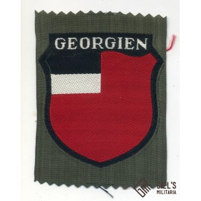 Georgian arm shield for Georgian Wehrmacht volunteers