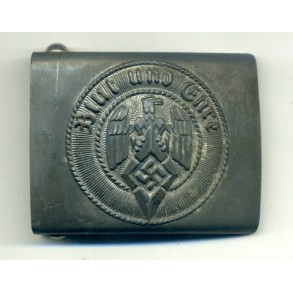 HJ buckle by Overhoff & Co., late war!