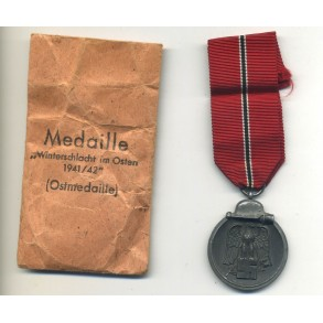 East front medal by Maurizt Hausch + package