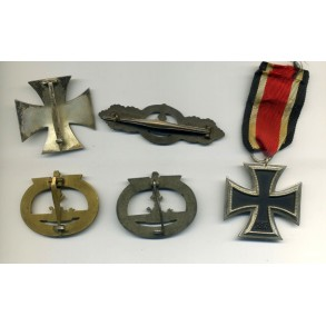 U-boot medal grouping belonging to one person