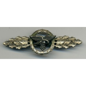 Luftwaffe flight clasp for transporters in silver